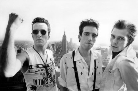 fever-dream rosen/powers men channeling the clash (photo by the great bob gruen)