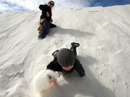 White Sands Yawp