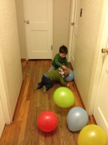 Emmett, eat this balloon.