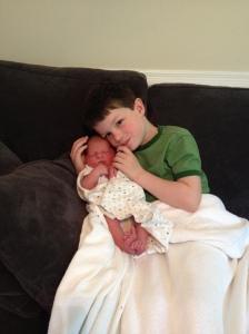 Adoring brother #1