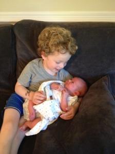 Adoring brother #2